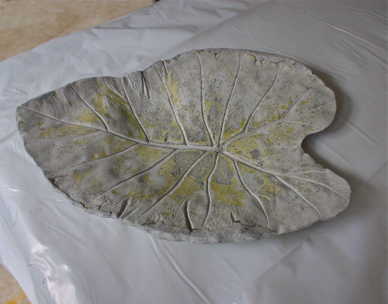 Baño de hormigón de un molde de ruibarbo | Blog de iHanna BlogiHanna