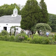 A view to the Vegetable Garden & Barn