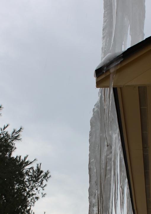 icicle stalactites