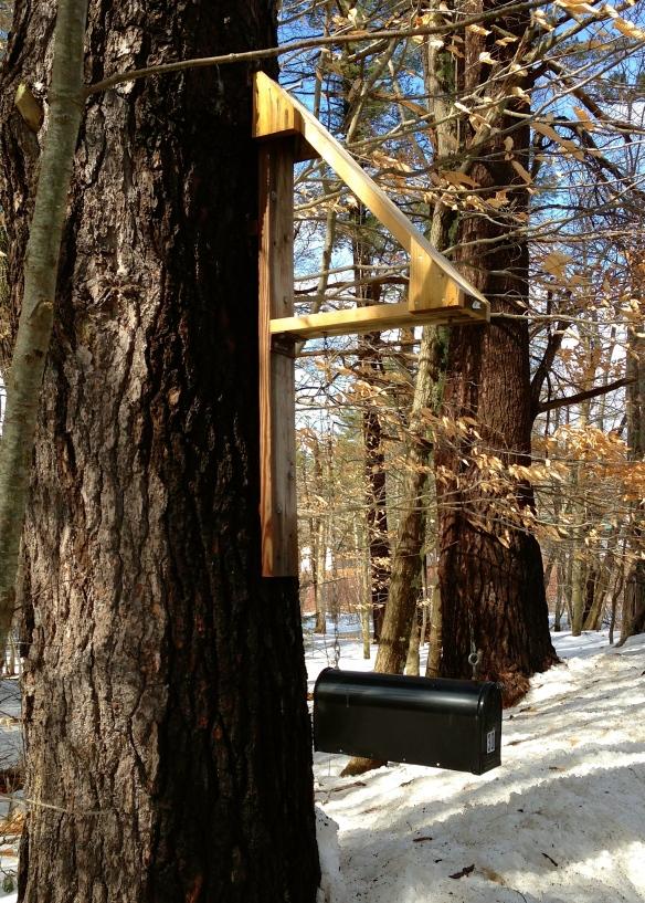 swinging mailbox