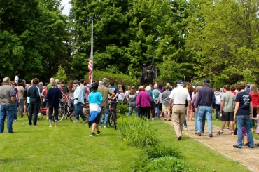 Wreath Ceremony at Gale Park