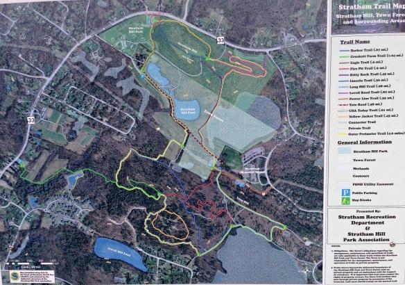 Stratum Trail Map
