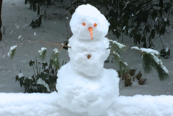 Our small Snowman