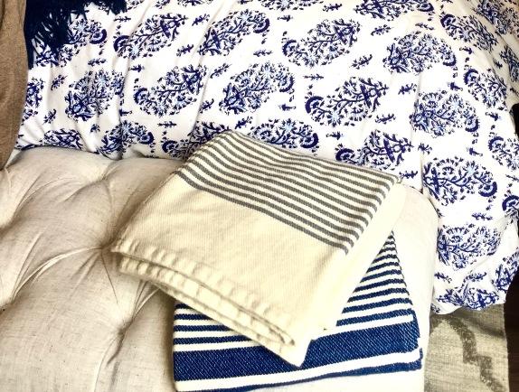 Garnet Hill blankets