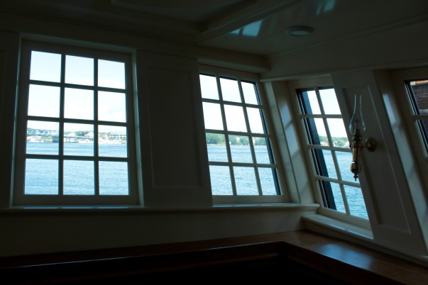Oliver Hazard Perry below deck view