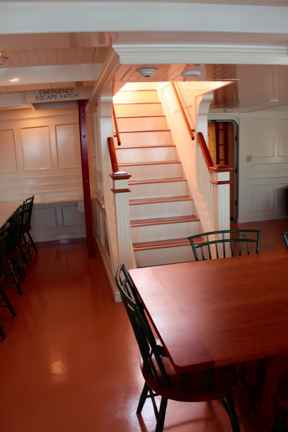 Oliver Hazard Perry below deck