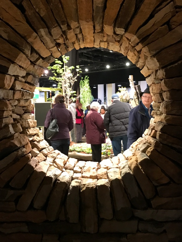 Maine Stoneworks, Boston Flower Show 2017