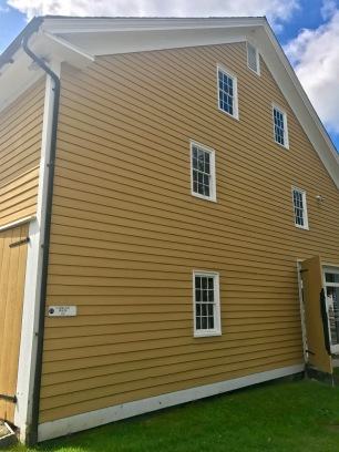 The Carriage House, ca. 1825, at Canterbury Shaker Village