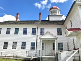 The Dwelling House, ca. 1793, at Canterbury Shaker Village