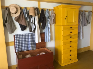 Canterbury Shaker Village Bedroom Clothes