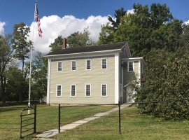 The School House at Canterbury Shaker Village