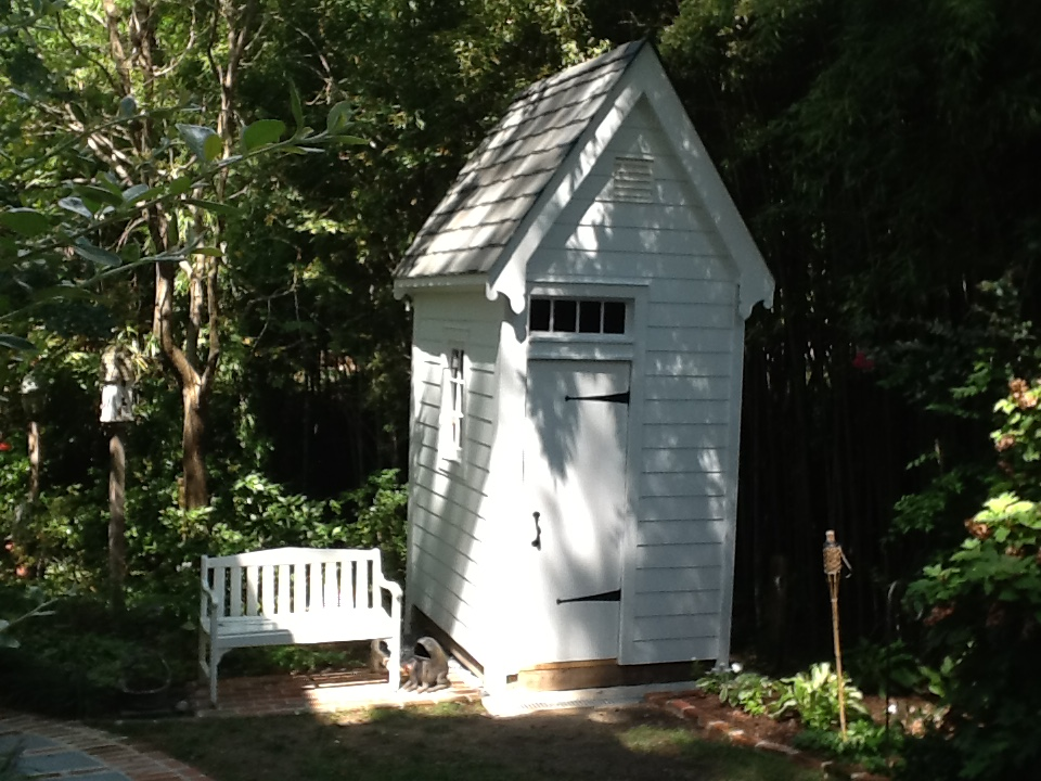 The finished Garden Outbuilding
