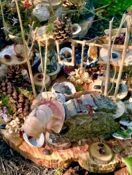 Strawbery Banke Fairy Houses 2017