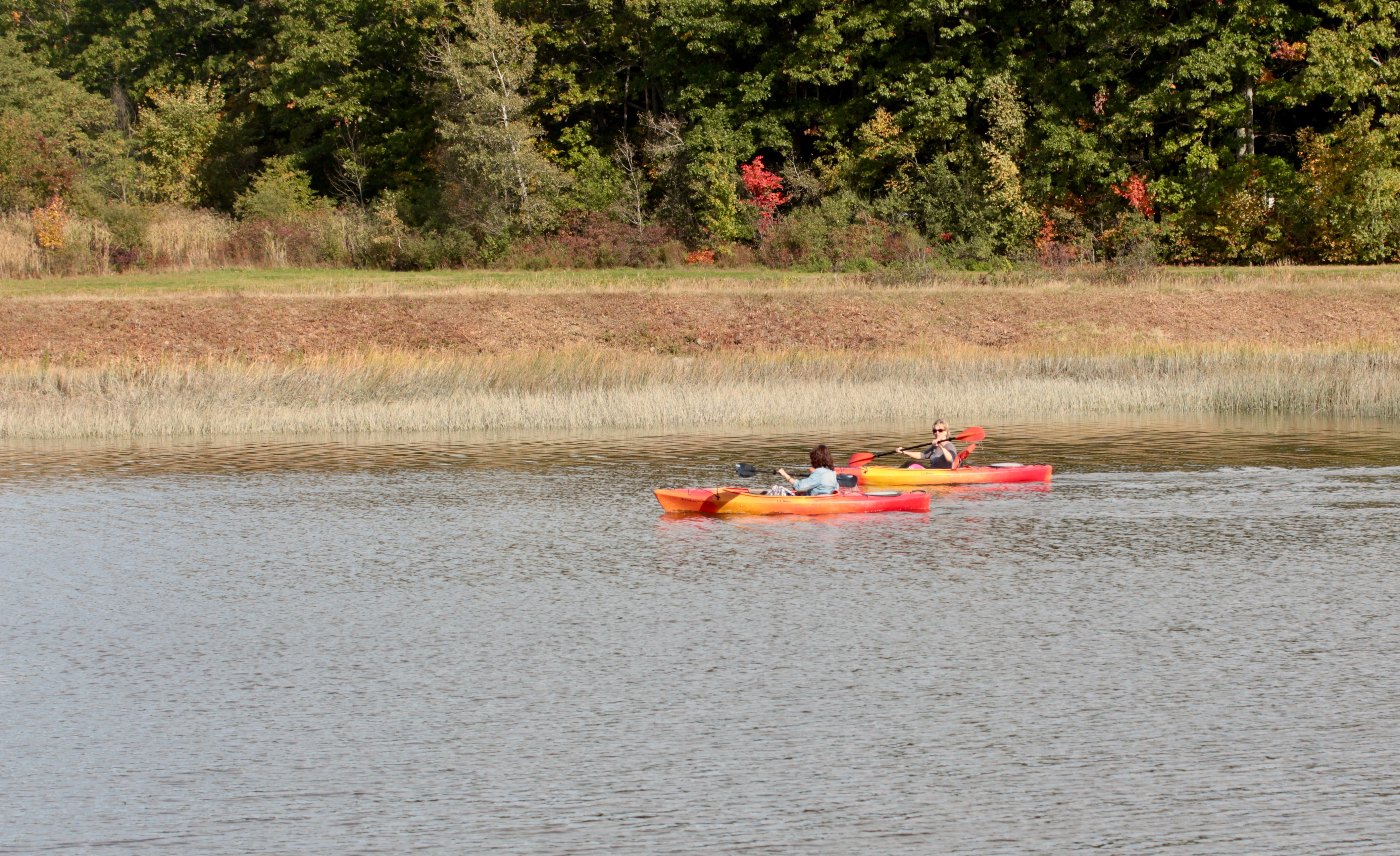 kayakers Swasey Parkway 2017