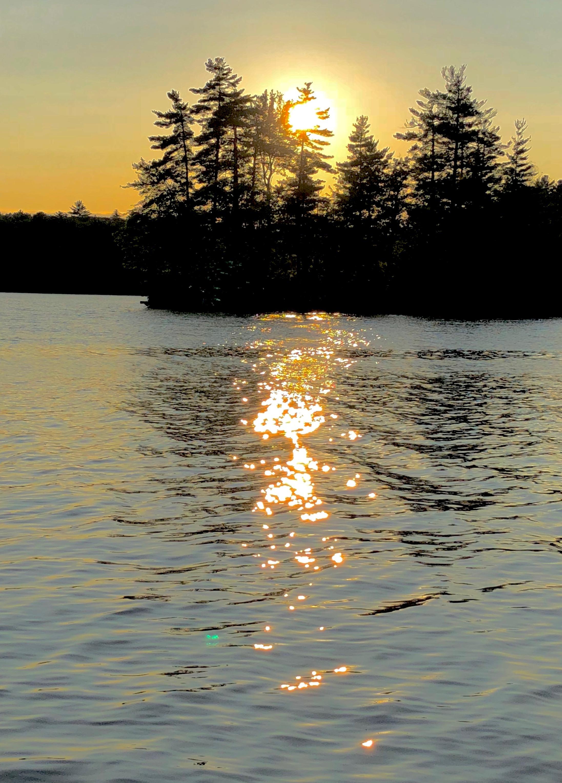 Thompson Lake sunset 2018