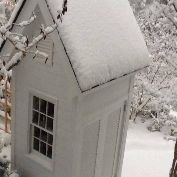 Generator building snow 2018